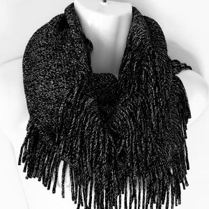 Accessories - Gray Infinity Scarf